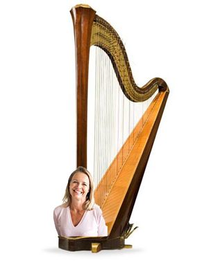 Harpe femme