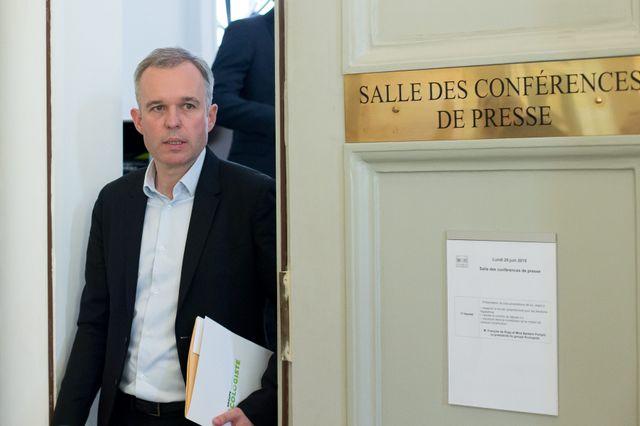 François de Rugy quitte les Verts