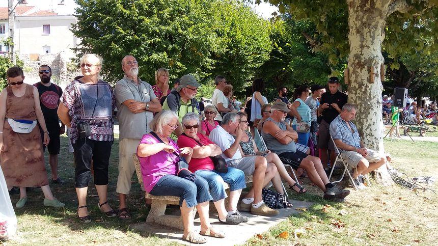 Depuis dix ans, les démonstrations de joute n'avaient pas eu lieu devant le public à Saint-Just.