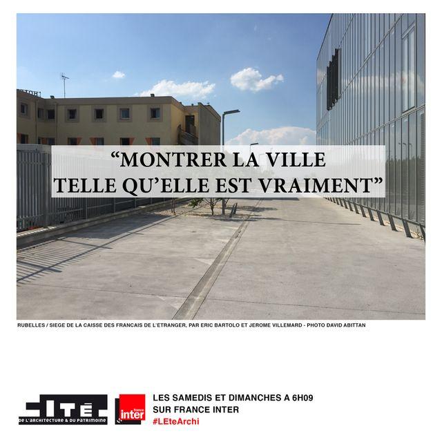 Siège de la Caisse des Français de l'Etranger à Rubelles - Architectes : E. Bartolo et J. Villemard