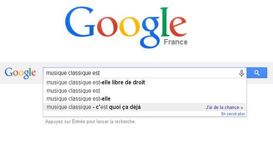 google musique classique