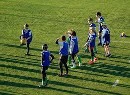 Enfants au rugby