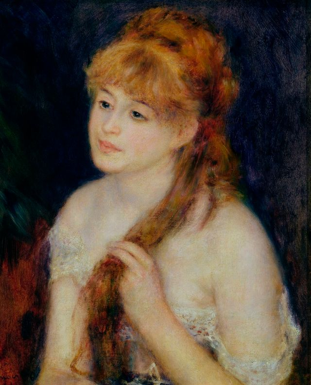 La chevelure - Renoir