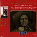 Les grands chanteurs mozartiens Orfeo C 408955 R
