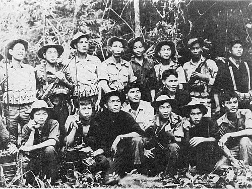 Soldats du Nord-Vietnam en 1968