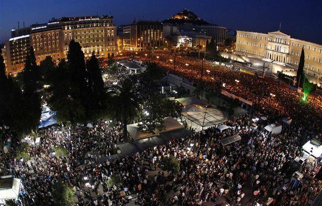 manifestation Athènes
