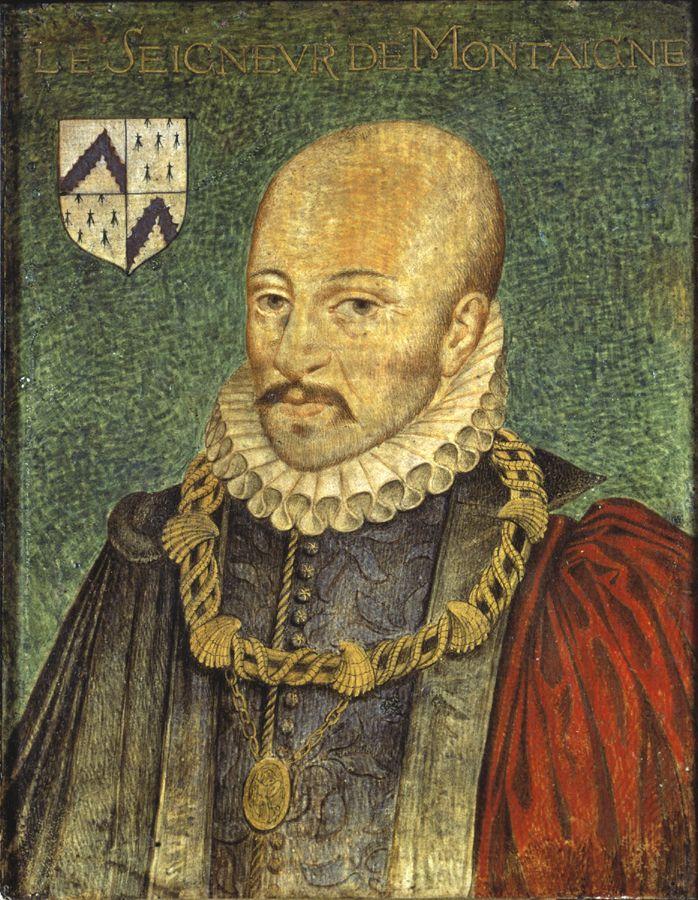 Portrait de Montaigne par un auteur anonyme