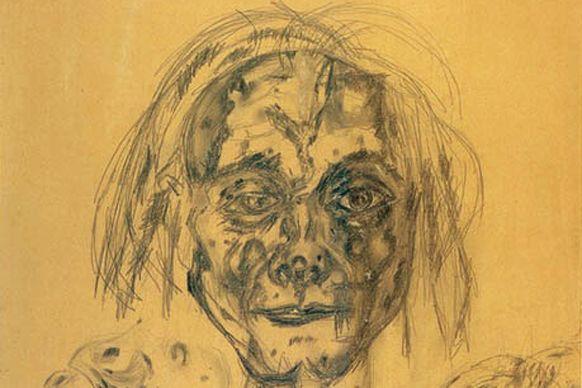 Antonin Artaud Autoportrait, 1946, Centre Pompidou / CC renzo dionigi / Flickr