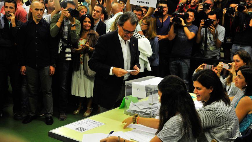 Les séparatistes catalans ont donné à cette élection une allure de référendum.