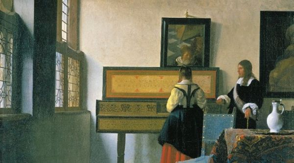 Johannes Vermeer - La leçon de musique