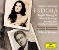 Fedora Gheorghiu Domingo Orchestre symphonique de Chœurs de la Monnaie Veronesi DGG 477 8367.