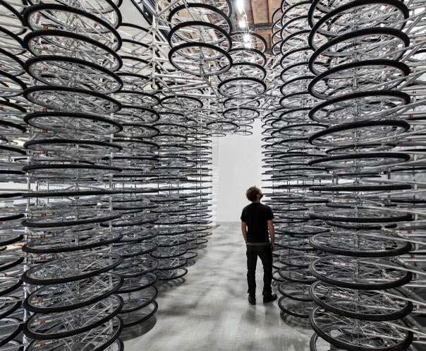 Al Weiwei Stacked