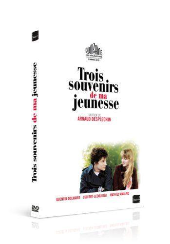 "DVD film Arnaud Desplechin ""3 souvenirs de ma jeunesse"""