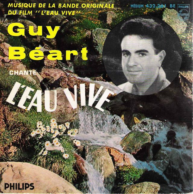 Guy Béart pochette CD Eau vive