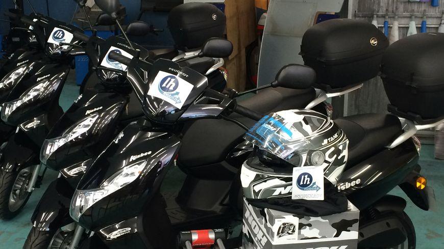Des scooters de location sont à la disposition des demandeurs d'emplois