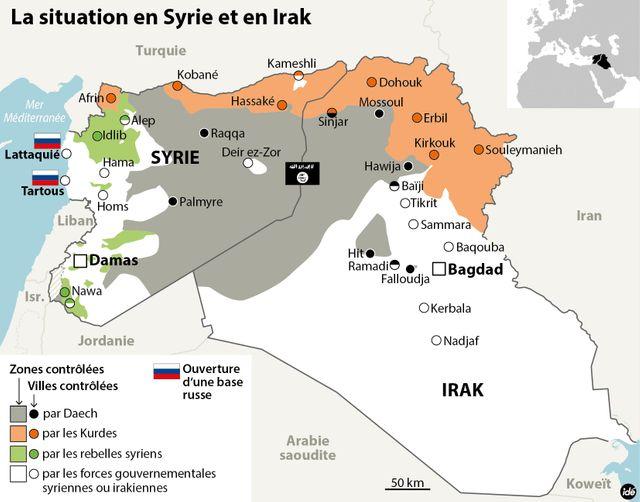 Moscou déploie des avions de combat en Syrie