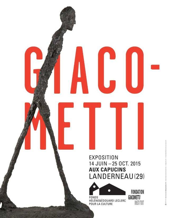affiche expo Giacometti