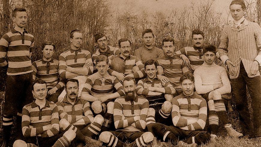 Le Havre, une des premières équipes de rugby en France