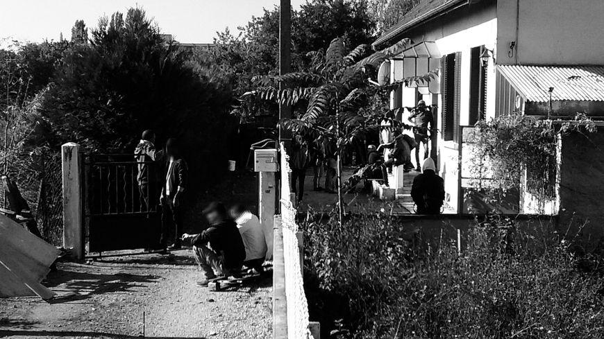 Une maison des Lentillères squattée