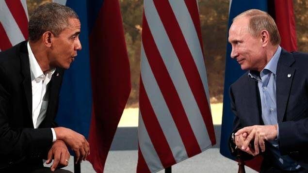 Barack Obama et Vladimir Poutine - ici en juin 2013 - vont unir leurs efforts en Syrie