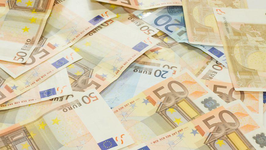 Des billets de banque en Euro