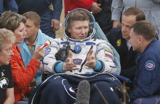 Le cosmonaute russe Guennady Padalka