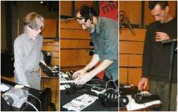 Harold Schellinx, Emmanuel Rébus et Anton Mobin pendant les balances