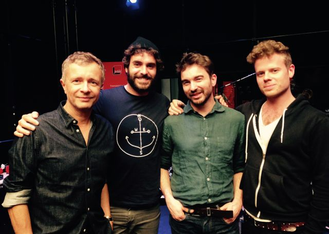 Laurent Goumarre, Alex Nevsky, Benoit Lagane