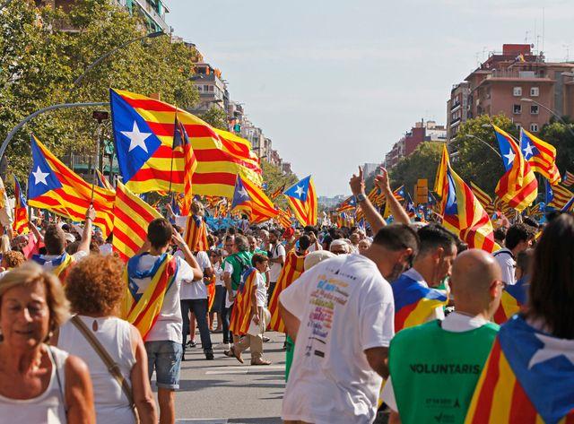 Deux millions de personnes ont défilé il y a quelques jours à Barcelone pour demander l'indépendance de la Catalogne