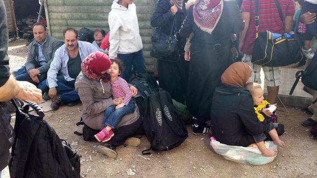 Après l'arrivée des réfugiés syriens à Kyos en Grèce