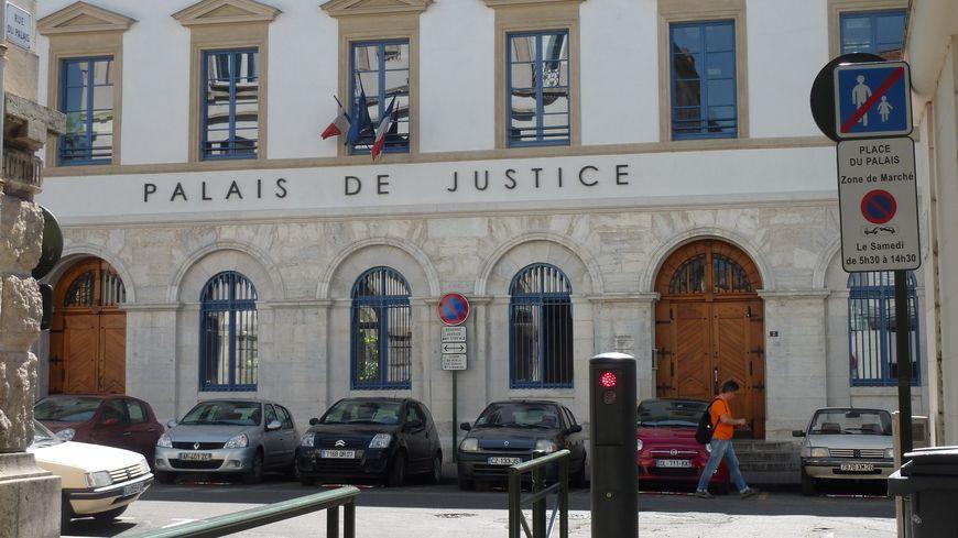 Le palais de Justice de Valence dans la Drôme, image d'archives