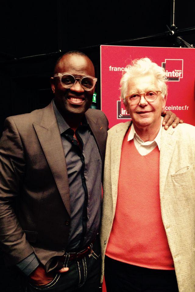 Alain Mabanckou et André Magnin