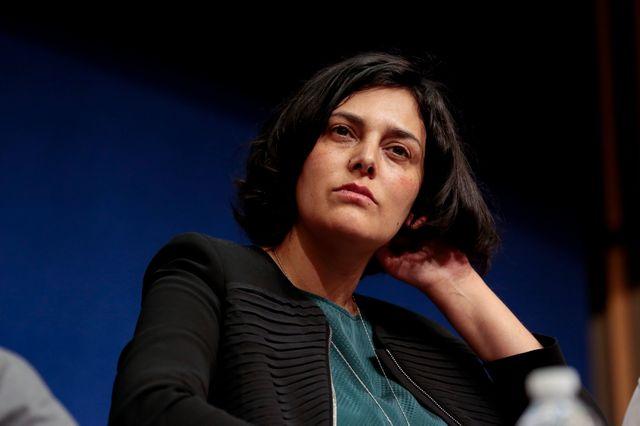 Myriam EL KHOMRI,21 avril 2015, conférence au ministère de l'Économie et des finances