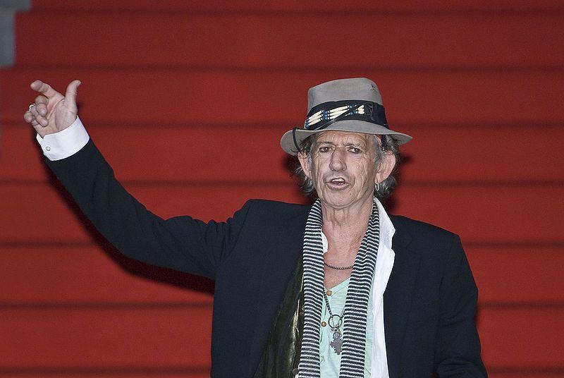 Keith Richards en 2008
