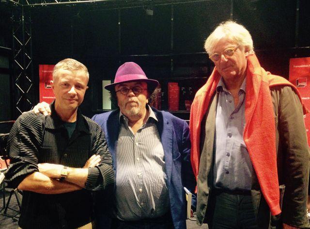 Laurent Goumarre, Jean-Michel Ribes et Patrick Roegiers
