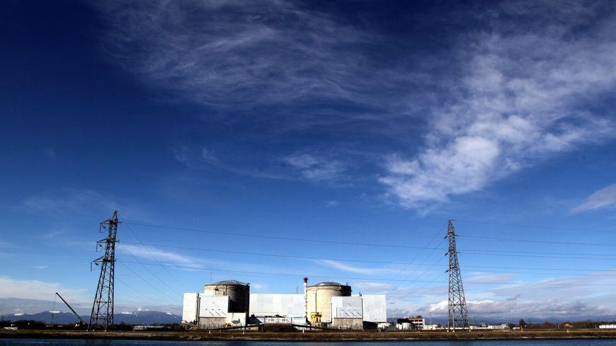 La centrale nucléaire de Fessenheim produit 1,5% de l'électricité française