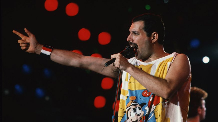 Freddy Mercury, le chanteur de Queen