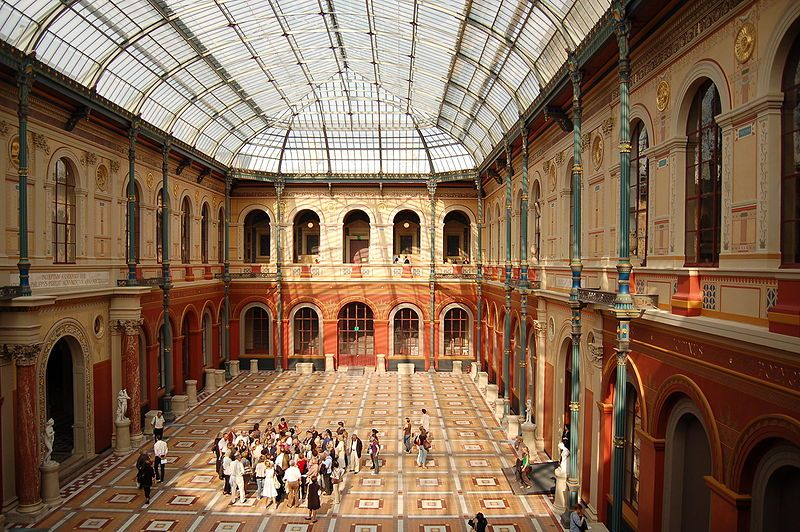 Cours intérieure des Beaux-Arts de Paris
