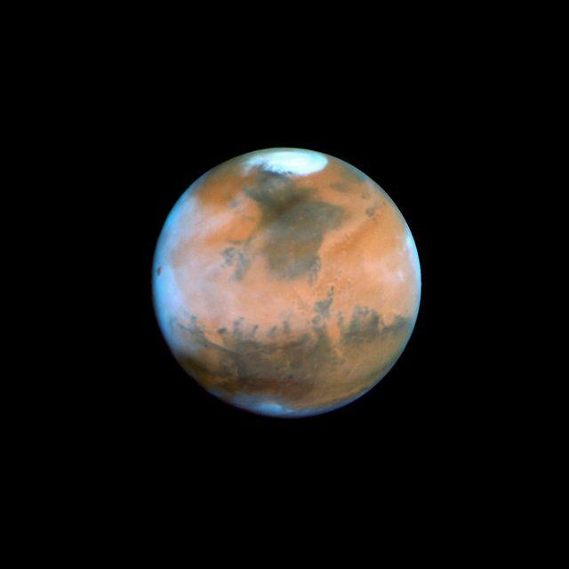 La moitié de l'hémisphère nord de Mars a certainement été un océan
