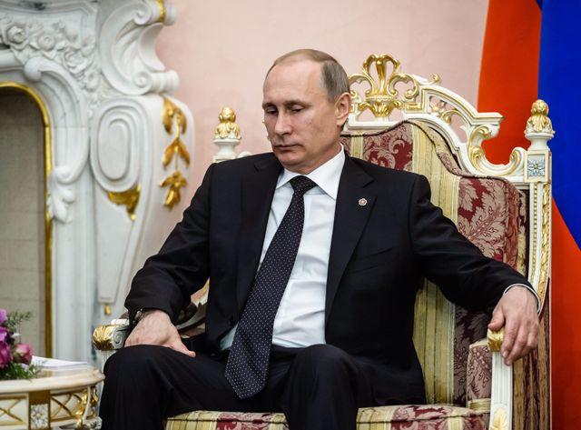 """Vladimir Poutine avait estimé qu'il fallait prendre les """"terroristes"""" de vitesse"""