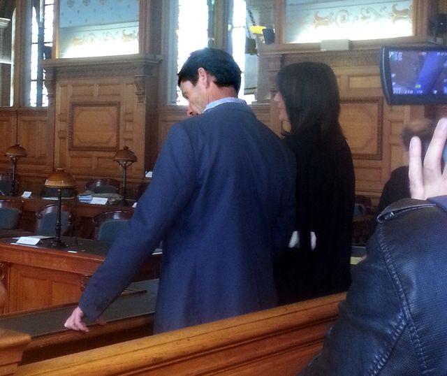Raphaël Maillant devant la Cour de révision