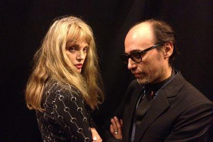 Arielle Dombasle et Nicolas Ker au studio 108