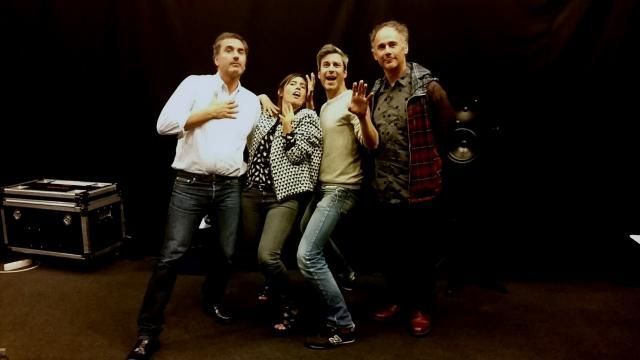 Ping Pong : Xavier Giannoli, Mathilde Serrell, Martin Quenehen et Jérôme Bel