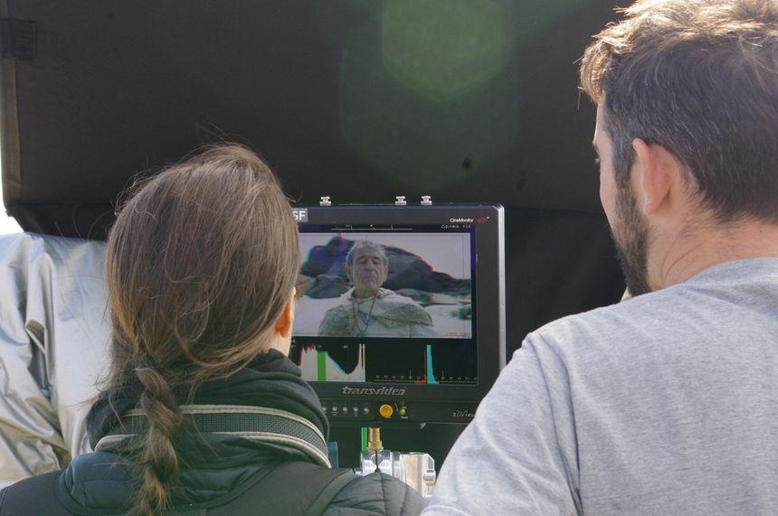 Le film est tourné en 3D avec du matériel spécifique