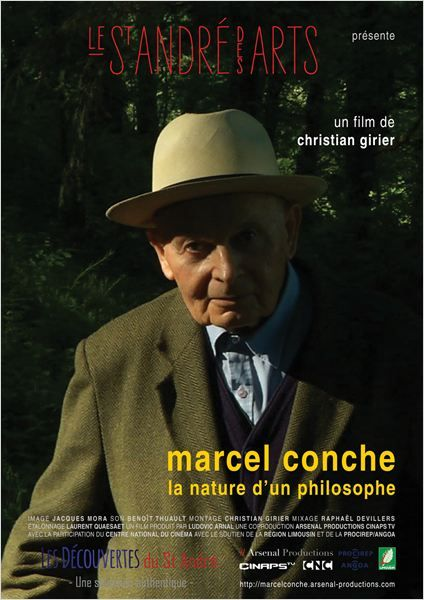 """Affiche du film """"Marcel Conche, la nature d'un philosophe"""""""