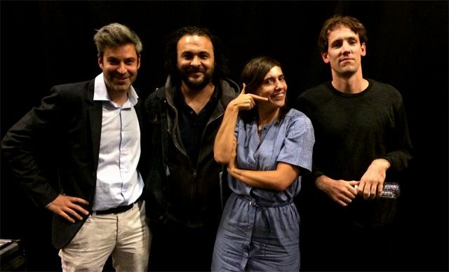 Ping Pong : Martin Quenehen, Kader Attia, Mathilde Serrell et Maciek Pozoga