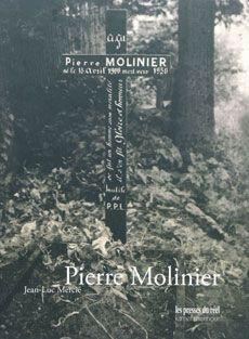 """Couverture de la monographie intitulée """"Pierre Molinier"""""""