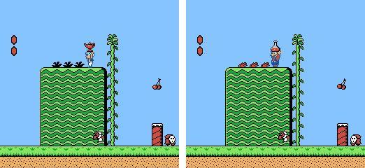 Doki Doki Panic et Mario Bros. 2
