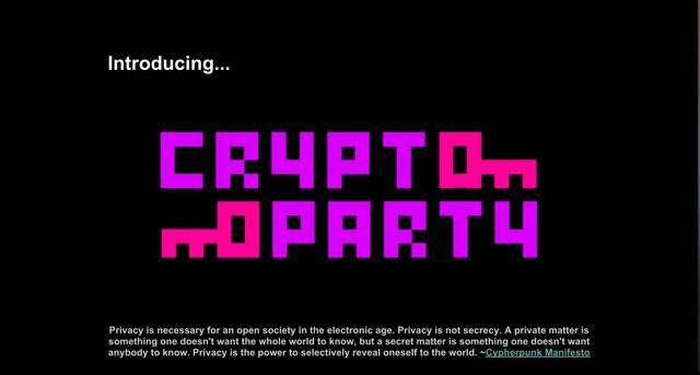 Cryptoparty