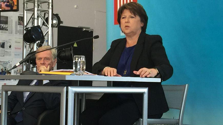 Martine Aubry a fait sa rentrée politique à la gare Saint-Sauveur de Lille